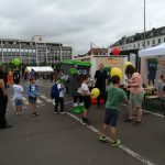 EVS Biotonne TIBO auf dem Familienaktionstag in Saarlouis
