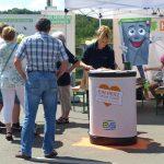 Biotonne TIBO auf dem Tag der offenen Tür der AVA in Velsen