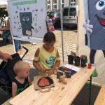 Spiel und Spaß mit TIBO auf dem Jakobsmarkt Medelsheim