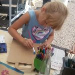 Spiel und Spaß mit TIBO auf dem Sommerfest Schaumbergplateau in Tholey