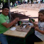 EVS TIBO auf dem Biospärenfest in St. Ingbert