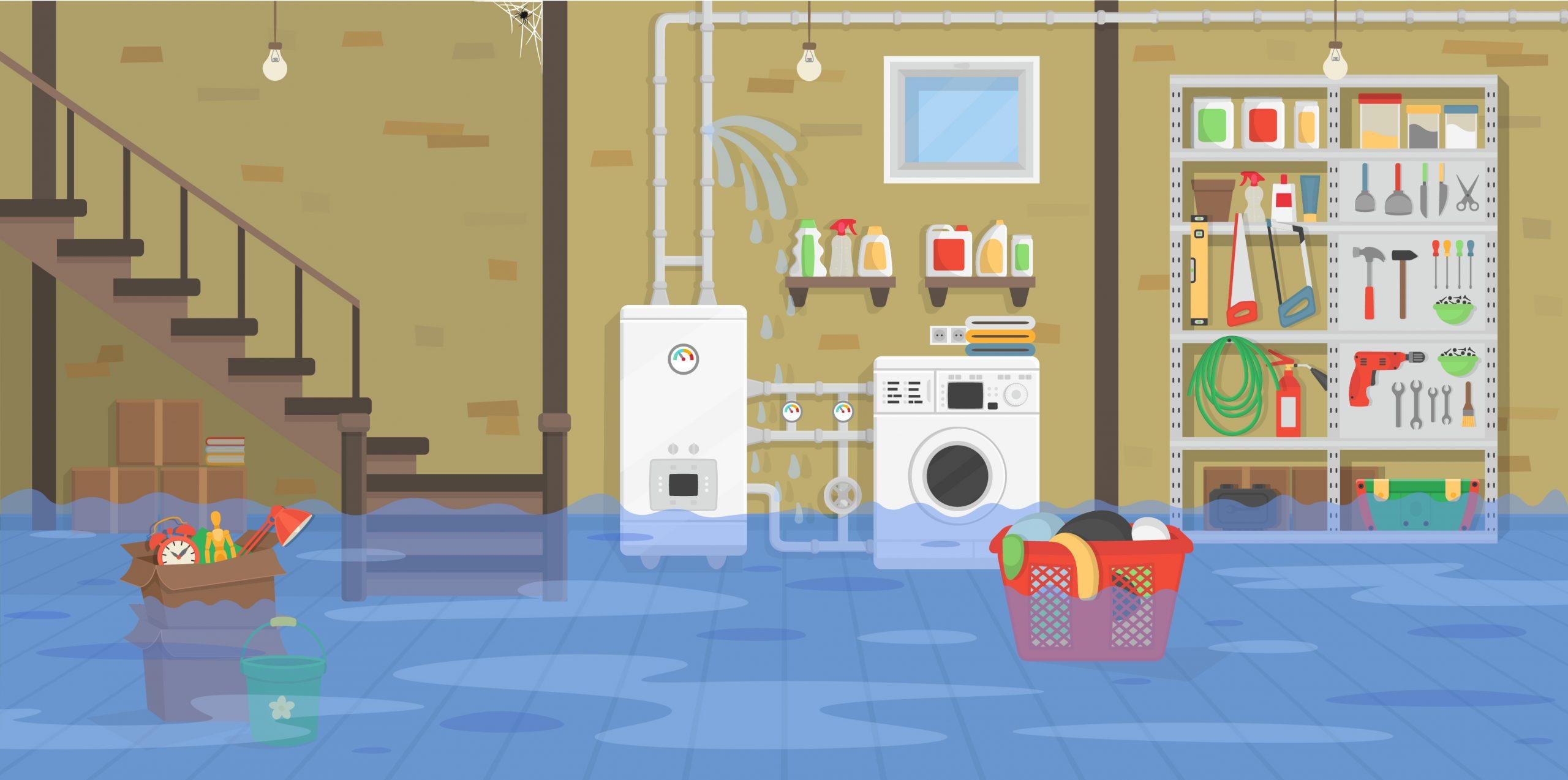 Wasserschäden im Keller erfolgreich verhindern